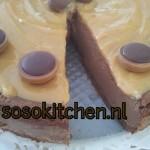Käsekuchen Chocolate-Coffee-Dulce Leche