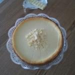 Käsekuchen White Chocolate-Vanilla-Greek Yogurt