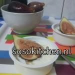 Ramadan Toetje; Griekse Joghurt-Honing-Vijgen