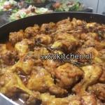 Kipstukken met Saus uit de Oven
