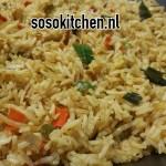Nasi met Chinese Groenten-Roerbaxmix
