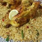Nasi Chinese Roerbakmix met Gemberkip uit de oven