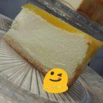 Käsekuchen-Cheesecake-Kwarktaart Perzik en Passievrucht (Maracuja)