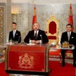 Speech Troonrede Mohamed VI
