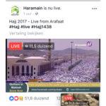 Arafah Live 'Talbiya'