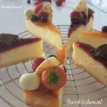 Cheesecake-Kwarktaart-Käsekuchen