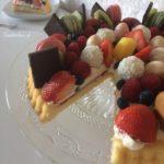 Fruittaart is klaar !