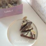 Chocoladetaart Marmer inpakken