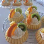 Mini Fruittaart is klaar