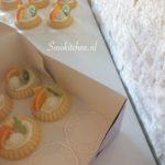 Mini Fruittaart inpakken