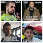 Europa Toont Zich Solidair Met De Politieke Gevangen ! #Free All Political Prisoners