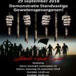 Zaterdag 29 September 2018 Demonstratie Den Haag