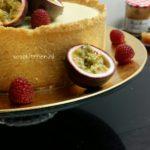 Cheesecake-Käsekuchen-Kwarktaart Met Rand Eindresultaat !