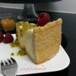 Cheesecake-Käsekuchen-Kwarktaart Met Rand Opdienen !