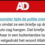 Ra Ra Ra Wat Klopt Er Niet: Schietincident Utrecht. Stop Fake Nieuws!