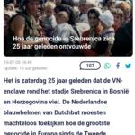 25 Jaar Geleden: Val Van Srebrenica