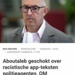 Aboutaleb Geschokt Over Racistische App-Teksten Politieagenten, OM Ingeschakeld