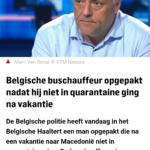 Belgische Buschauffeur Opgepakt Nadat Hij Niet In Quarantaine Ging Na Vakantie