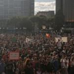 Madrid: Protest Tegen Coronamaatregelen