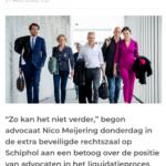 Advocaat Meijering Over Taghi-Proces: 'Zo Kán Dit Niet Verder'
