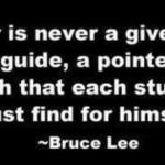 A Teacher Is…