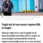 Taghi Wil Af Van Zwaar Regime EBI In Vught