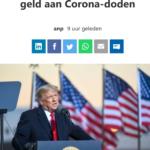 Trump: Doktoren Verdienen Geld Aan Corona-Doden