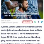 Labyad Over 'Kappersrelletje' Bij Ajax: 'Ben Al Maanden Niet Geknipt'