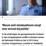 'Nieuw Anti-Misdaadteam Zorgt Voor Wrevel Bij Politie'