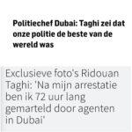 'Medaille Voor Politie Dubai Na Mishandeling Taghi Ongepast'