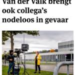 Verhoor Journalist Van Der Valk Brengt Ook Collega's Nodeloos In Gevaar