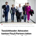 Toezichthouder: Advocaten Kantoor Ficq & Partners Lekten Geen informatie Aan Taghi