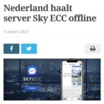 Nederland Haalt Server Sky ECC Offline