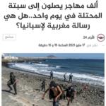 Ruim 2700 Migranten Aangekomen In Spaanse Enclave In Marokko Video